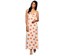 Kleid offwhite/orange