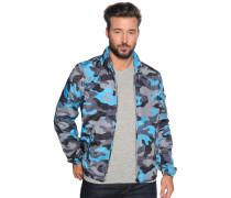 Jacke grau/blau