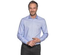 Business Hemd Custom Fit hellblau