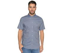 Kurzarmhemd Regular Fit, blau