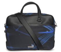 Laptoptasche schwarz/blau