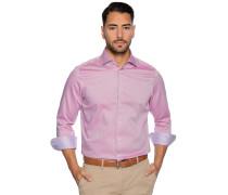 Business Hemd Custom Fit rot