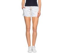 Shorts weiß/blau