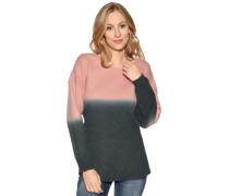 Pullover rosa/petrol