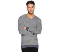 Pullover navy/melange
