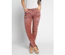 Jeans Slim hellrot