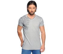 Kurzarm T-Shirt grau