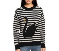Pullover schwarz/weiss