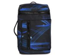 Rucksack schwarz/blau