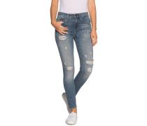 Jeans High Rise blau