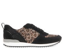 Sneaker schwarz/taupe