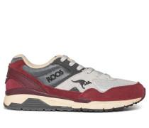 Sneaker bordeaux/grau