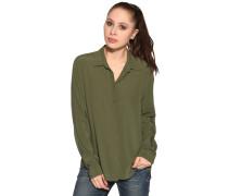 Langarm Bluse grün