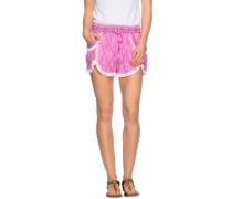 Shorts pink/weiß
