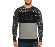 Sweatshirt grau/schwarz