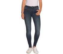 Jeans 3301 d-Mid Super Skinny dunkelblau