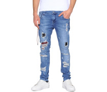 Jeans Parbat blau