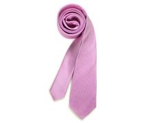 Seidenkrawatte rosa