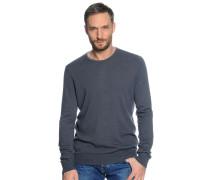 Pullover mit Kaschmir anthrazit
