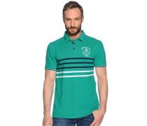 Kurzarm Poloshirt grün