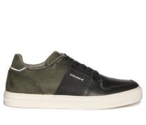 Sneaker khaki/schwarz