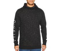 Kapuzensweatshirt schwarz/weiß