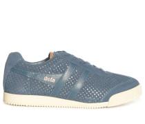 Sneaker blau/kupfer