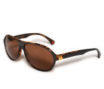 Sonnenbrille anthrazit/braun