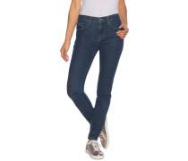 Jeans High Rise Skinny blau