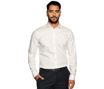 Business Hemd Slim Fit offwhite