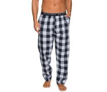 Pyjamahose navy/hellblau