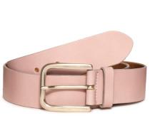 Ledergürtel rosa