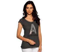 Kurzarm T-Shirt dunkelgrau