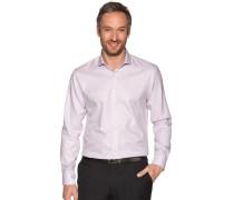 Business Hemd Custom Fit weiß/bordeaux