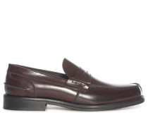 Business Penny Loafers braun