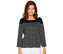 Pullover navy/weiß