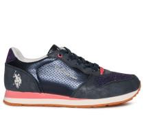 Sneaker navy/lila