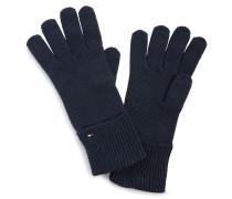 Handschuhe mit Kaschmiranteil navy