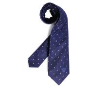 Krawatte, blau