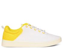 Sneaker weiß/gelb