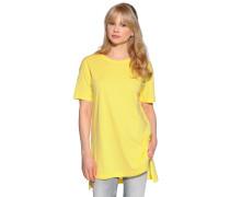 Kurzarm T-Shirt gelb