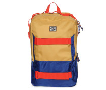 Rucksack curry/rot/navy
