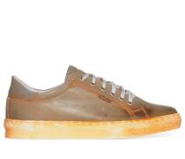 Sneaker braun/orange