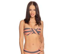 Bikini grau/koralle