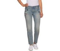 Jeans Ankle blau