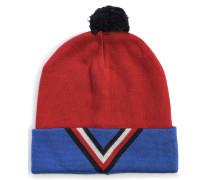 Mütze rot/blau