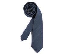 Krawatte navy gemustert