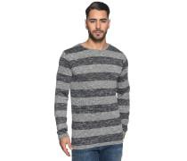 Pullover grau/navy