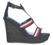 Wedges navy/rot