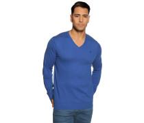 Pullover mit Kaschmiranteil royalblau